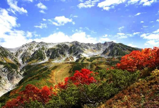 Tateyama Japan  city photo : Autumn is a excellent season to visit Japan with the surrounding ...