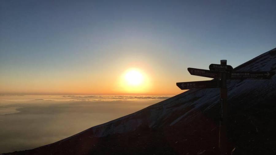 Mt. Fuji Sunset