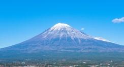 Mt. Fuji in June