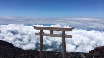 Mt. Fuji Tori Gate